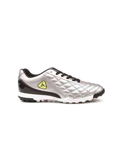 Letoon Futbol  Ayakkabısı Gümüş